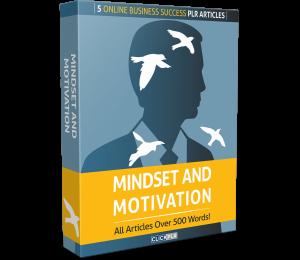 mindset and motivation - 5 online business success plr articles