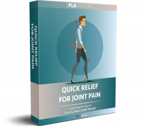 Quick Relief For Joint Pain - PLR Report