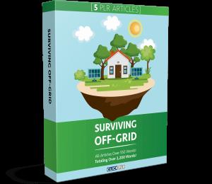 Surviving Off-Grid - 5 PLR Articles