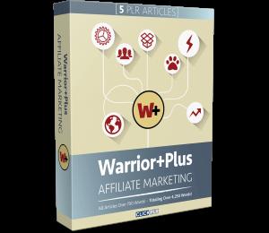 Warrior+Plus Affiliate Marketing - 5 PLR Articles